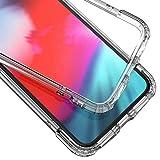 Syncwire Coque iPhone X / XS Transparente - Housse de Protection en Silicone Rigide Anti Choc avec...
