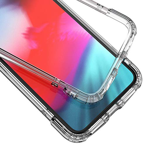 Syncwire Funda para iPhone XS/X - [ Serie Armor ] Cristal Carcasa iPhone XS/X con Tecnología de Protección Anticaídas y cojín de Aire para Apple iPhone XS/X, Transparente