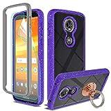 Moto E5 Plus/Moto E5 Supra Case with HD Screen Protector