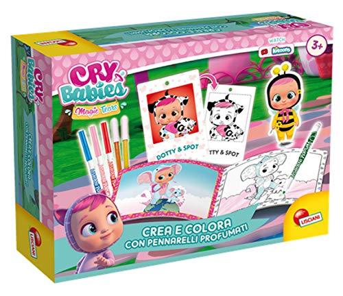 Lisciani - Creativos de creaciones – CRY BABIES CREE, color con los aromas – 83466