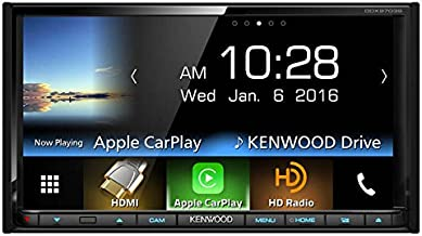 Kenwood DDX9703S 2-DIN in-Dash DVD/CD/AM/FM Car Stereo w/ 6.95