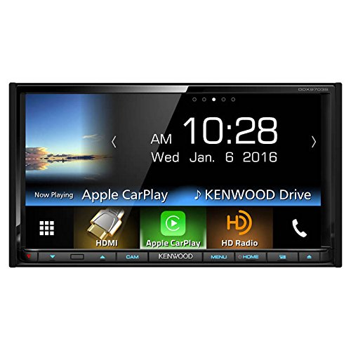 Kenwood DDX9703S 2-DIN in-Dash DVD/CD/AM/FM Car