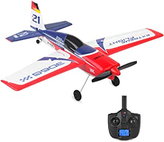 Wotryit XK A430 2.4G 5CH Brushless Motor 3D6G System RC Airplane EPS Aircraft Vertical Take Off Land Delta Wing RC Flying Aircraft Toys RC Glider Indoors & Outdoors_Small Remote