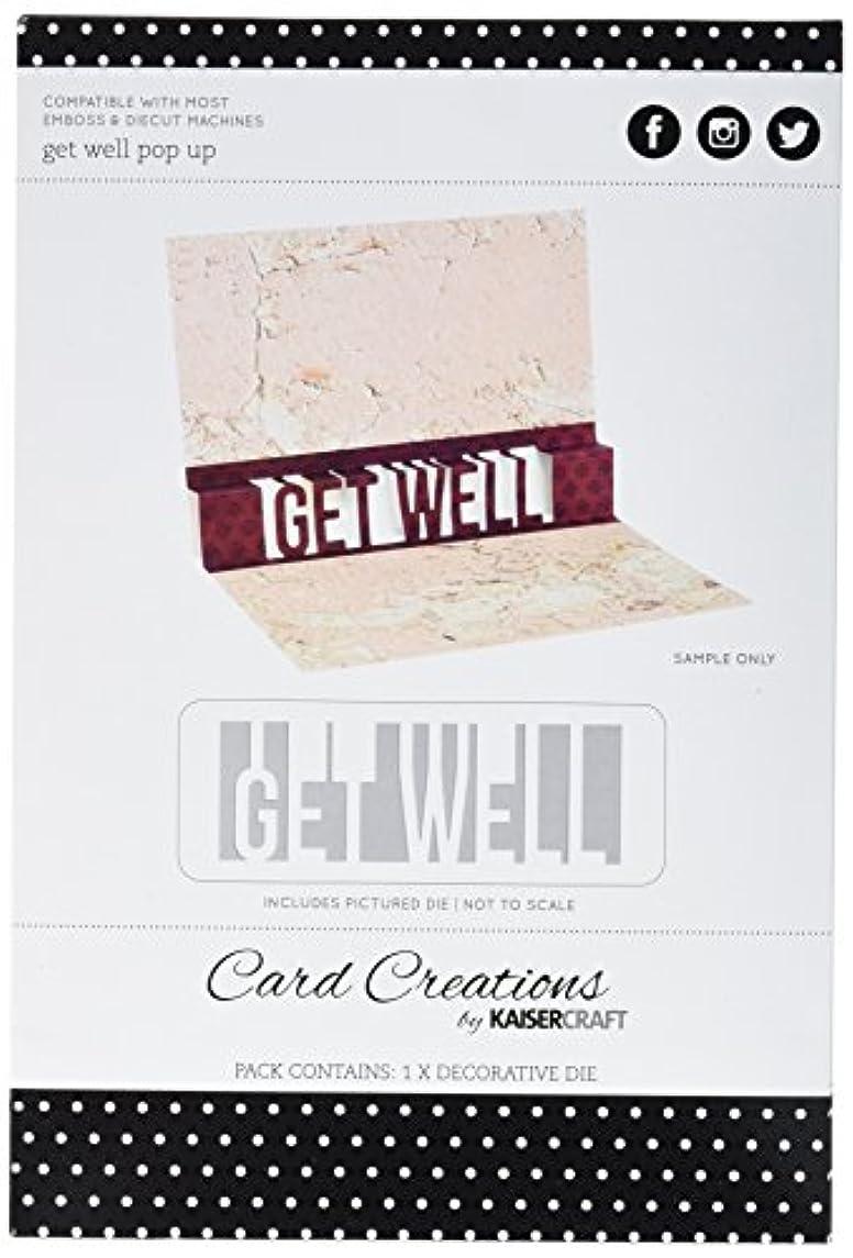 Kaisercraft Get Well Pop Up Card Creations Dies, 2.5 by 4.5