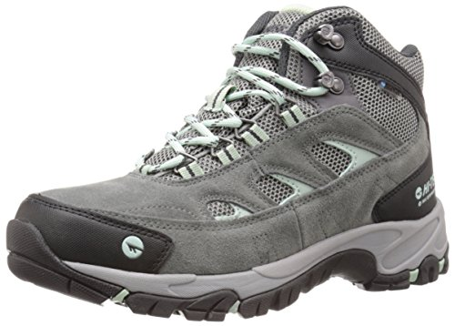 Hi-Tec Women's WN Logan Mid Waterproof Hiking Boot, Charcoal/Cool Grey/Lichen, 8.5 M US