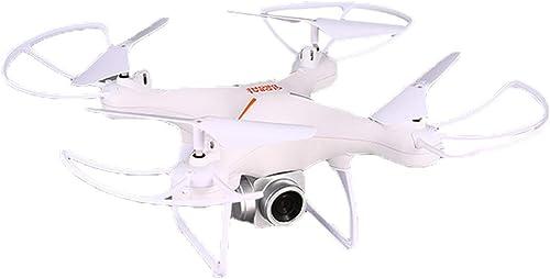 Anyilon für Global Drohne Gw26 Selfie FPV Rc 2,4 G Rc Quadcopter Drohne Flugzeug mit 1080 P WiFi Kamera 20 Minuten Langen Flug,Weiß,1080p