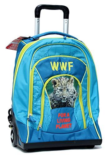 Zaino Organizzato Trolley Adventure Boy WWF