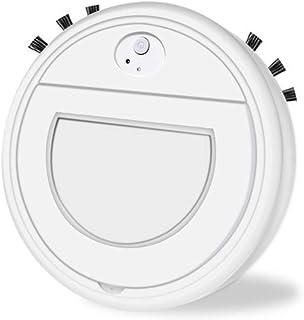 Hankyky Robot Aspirador Inteligente aspiradora Mascota,3 en 1 Robot Aspirador autom?tico y fregasuelos,Aspiradora Robot para Suelos Duros Y Alfombras,USB Recargable,para Mascotas,moqueta
