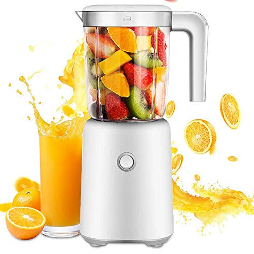 Mini Portable Juicer Blender 600ml White Personal Blender for thuis, kantoor, Perfect for verse groenten, milkshake en Babyvoeding, 250W, 166 x 120 x 296mm