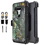 6-goodeals for LG Stylo 6 Case, with Built-in [Screen Protector] Heavy Duty Full-Body Rugged Holster Armor Case [Belt Swivel Clip][Kickstand].Cover for LG Stylo 6 Case (Accessories Pack) (Camo)