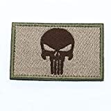 Cobra Tactical Solutions Punisher Castigador Skull Parche Bordado Táctico...