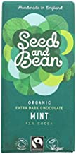 Seed Bean Organic Fairtrade Extra Dark 72 Mint Bar 85g Pack of 24 Estimated Price : £ 102,81