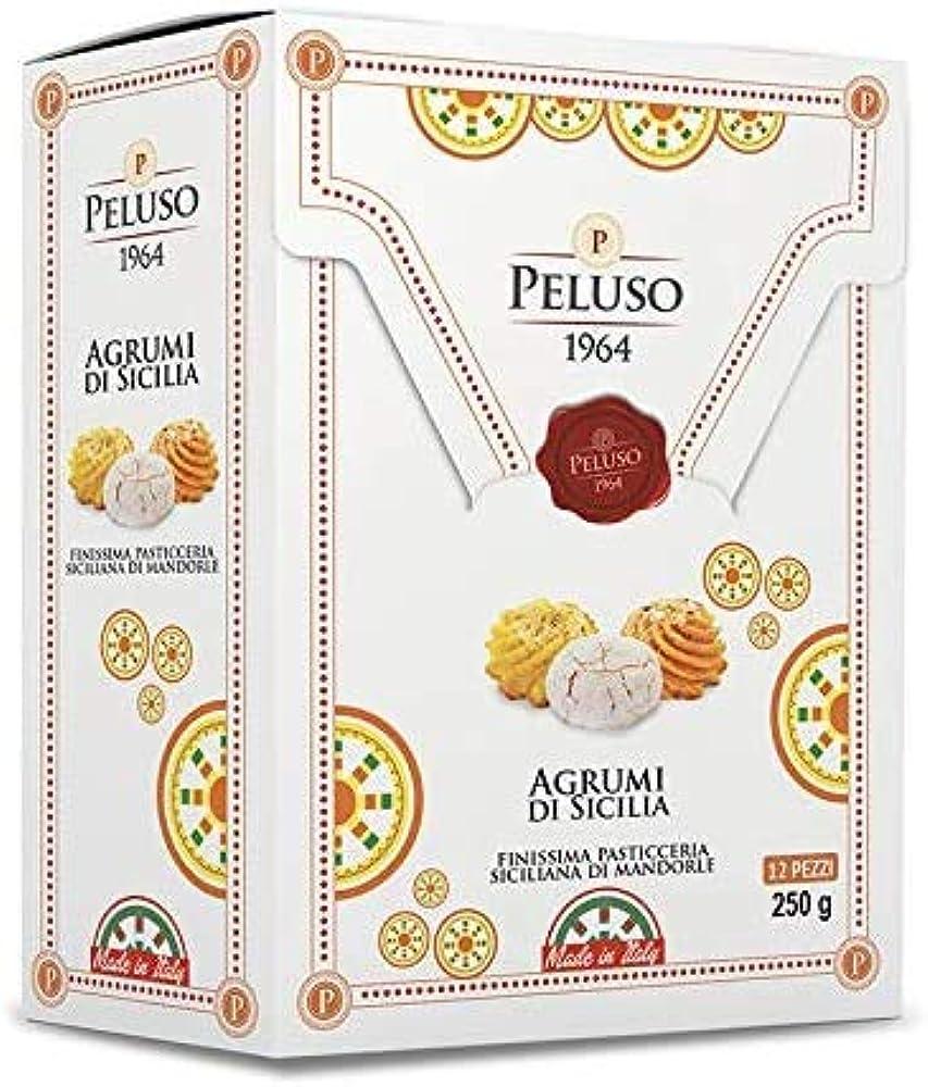 Sicilia bedda, pasta di mandorla agli agrumi di sicilia finissima pasticceria siciliana 250 gr