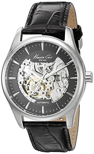 Kenneth Cole New York Men's 'Automatic' Automatic Stainless Steel and Black...
