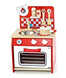 Unbekannt Küche-Bär / Mini Spielküche in rot mit Zubehör aus Holz / Gewicht: ca. 3,5 kg / Maße:...