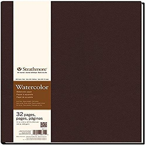 Strathmore 400 Series Hardbound Watercolor Art Journal, 11'x14' 16 Sheets - STR-467-11