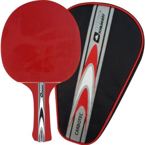 Donic Schildkröt Tischtennis-Schläger Carbotec 30 red konkav by DONIC
