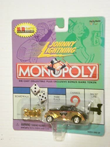 ¡No dudes! ¡Compra ahora! 2000 Johnny Lightning Monopoly Vintage Vintage Vintage oro Colorojo Willys With oro Colorojo Token by Johnny Lightning  online barato