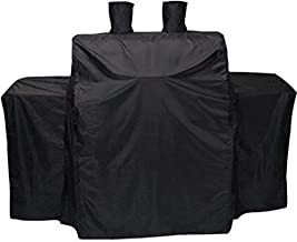Cookingstar Black Heavy Duty 600D Waterproof Cover for Char-Griller 3-Burner Grillin' Pro 3001 and 3000(54