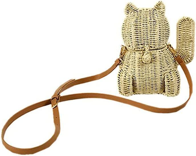 jadlahf Lucky Cat Bag Women's Small Same day shipping Diagonal Shoulder Ranking TOP20 Ba