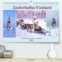 Zauberhaftes Finnland (Premium, hochwertiger DIN A2 Wandkalender 2022, Kunstdruck in Hochglanz): Winterstimmungen in Finnland noerdlich vom Polarkreis (Monatskalender, 14 Seiten )