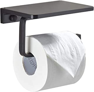 Support de papier hygiénique, étagère de rangement pour téléphone portable avec porte-papier hygiénique