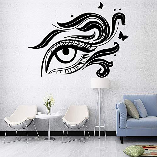 Beauty Eye Vinyl Wallpaper Rollo Muebles Decorativos Para Cocina Restaurante Etiqueta Decoración para el hogar 57X75Cm