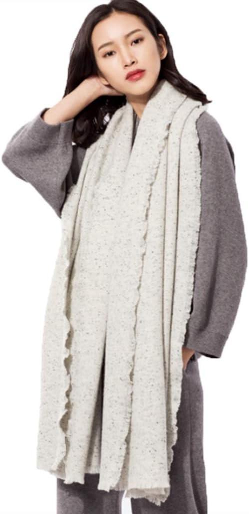 Ranking Luxury goods TOP12 Scarves Scarf Women's Thick Wool Fashi Shawl Black