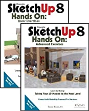 Google SketchUp 8 Hands-On: Basic and Advanced Exercises