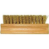 DELARA Cepillo para Ante de Madera con cerdas de latón