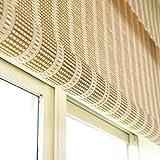 Klappbare Rollläden wasserdichte Bambusrollläden Schimmelfrei Innen- und Außenvorhänge Trennwandsysteme in anpassbarer Größe
