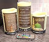 Mr. Gadget Solutions Kalligraphie-Kerze mit LED-Beleuchtung, selbstgemachtes Geschenk für Ihre...