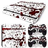 YWZQ Für PS4 Slim Aufkleber Skin für Playstation 4 Slim Console & Controller Cover Skin Decals Gamepad Protector Aufkleber,C