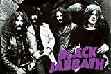 Black Sabbath/Early Group Pic Early Group B/W Horiz Poster
