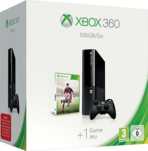 Xbox 360 500 GB Console With FIFA 15 [Importación Inglesa]