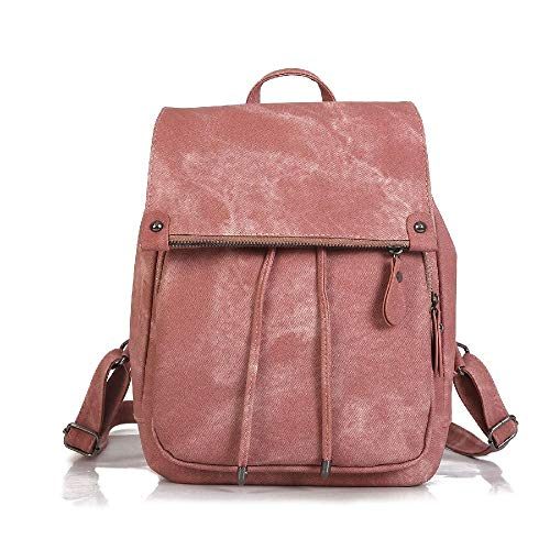 College Style Women's Backpack Trendy Women's Bags Fashion Solid Color Women's Bags