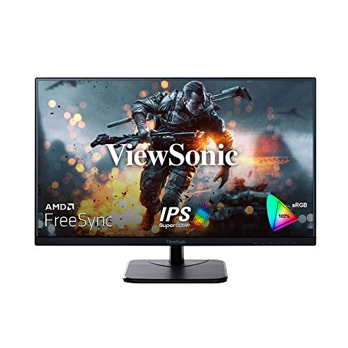 ViewSonic VA2256-H (22 Inch) Full HD LED 1080p, IPS Panel with Frameless Design, HDMI & VGA, Eye Care, Flicker-Free and Blue Light Filter