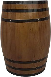 Tonneau à vin en chêne Tonneau à vin Tonneau à vin Décoration en fût de vin Rouge Tonneau à bière (Taille : 30L)