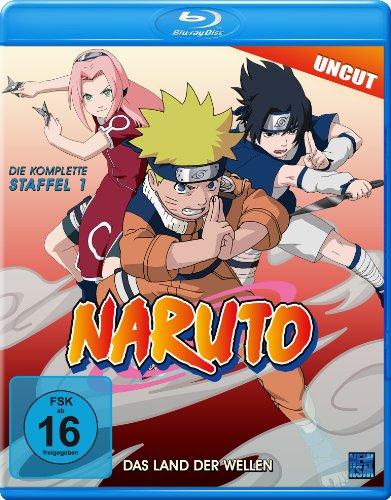 Naruto - Staffel 1: Das Land der Wellen (Uncut) [Blu-ray]