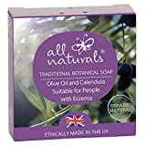 All Naturals, Soap 100% Natural Organic Vegan Eco Friendly. Gentle Face Wash and Hand-Soap with Aromatherapy Essential Oils for Sensitive Skin