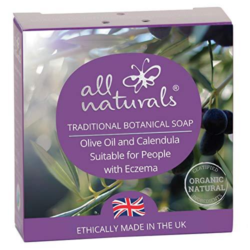 All Naturals, Eczema Olive Oil Soap & Body Wash with Jojoba, Moisturising...
