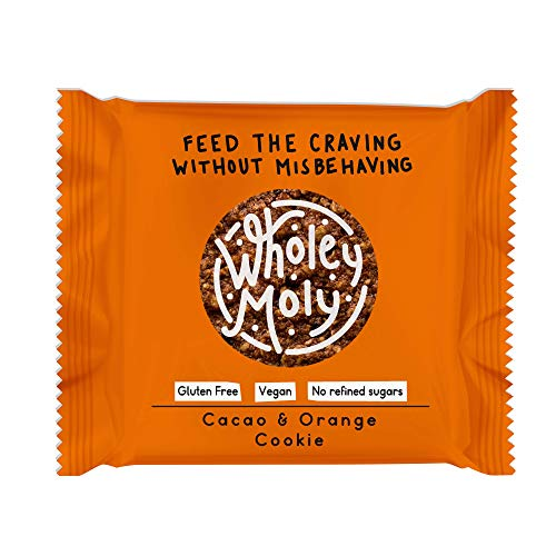 Wholey Moly - Cacao & Orange Cookie - 12 x 38g