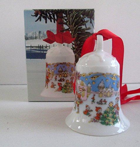 Hutschenreuther - Weihnachtsglocke 1987 - Glocke Porzellan - NEU - OVP - 1. WAHL
