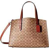 Coach Ladies Signature Canvas Charlie Carryall