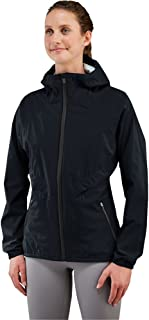 Women's Silver Falls Rain Jacket, Black, Medium