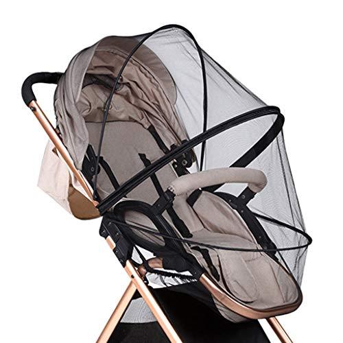 dedepeng Moskitonetz Babybett Tresor Kinderkrippe Moskito-Netz-PushchairAnti-Bug Netting Infant Schutznetz Kinderwagenzubehör Insektenschutz Vorhang