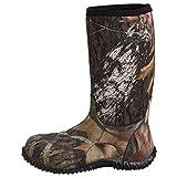 Bogs Unisex-Child Classic High Waterproof Insulated Rain Boot, Mossy Oak, 7 Big Kid
