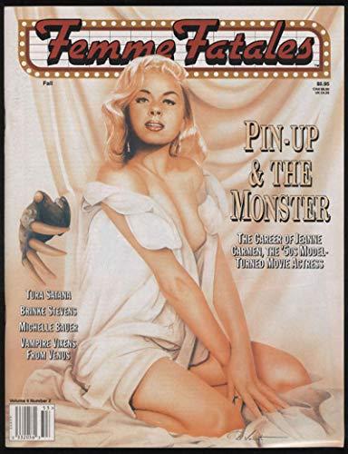 Femme Fatales Vol 4#2 Fall 1995 Jeanne Carmen Magazine