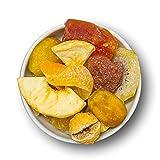 1001 Frucht Trockenfrüchte Mix 1000 g grob I Saftige Fruchtmischung Kandierte Früchte und Trockene Früchte Mix nach Omas Rezept I Fruchtiges Trockenobst gemischt I geschwefelt gentechnikfrei