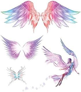 Amazon Com Angel Tattoos Temporary Tattoos Body Beauty